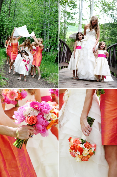 Colorful Wedding at Beaver Creek Resort, photo by Jenna Walker