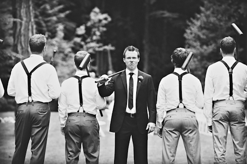 Rustic, outdoor wedding in Whistler, British Columbia - Photos by Anastasia Photography | junebugweddings.com
