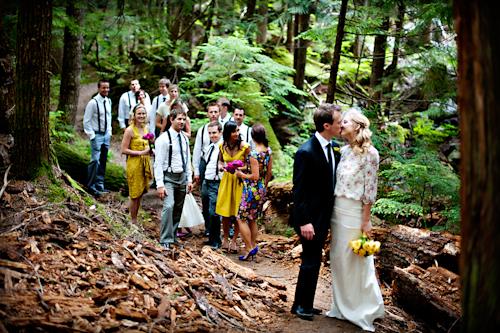 Rustic, Outdoor Wedding In Whistler, British Columbia   Photos By Anastasia  Photography | Junebugweddings