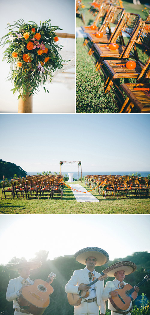 Colorful Sayulita, Mexico destination wedding, planning by Sayulita Dream Weddings, photos by Jillian Mitchell