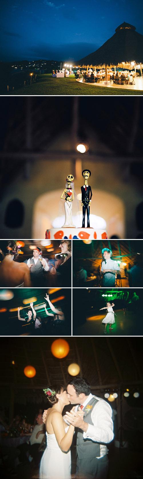 Colorful Sayulita, Mexico destination wedding, planning by Sayulita Dream Weddings, photos by Jillian Mitchell