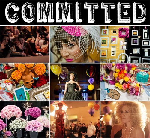 Committed - Portland's Indie & Alternative Wedding Event | junebugweddings.com