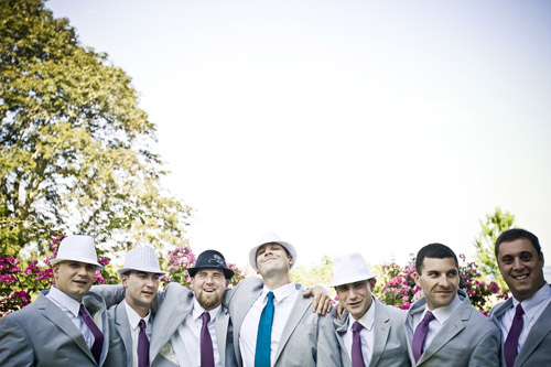 Teal and Purple Connecticut Wedding - photos by Top New England Wedding Photographer JAG Studios - Junebug Weddings