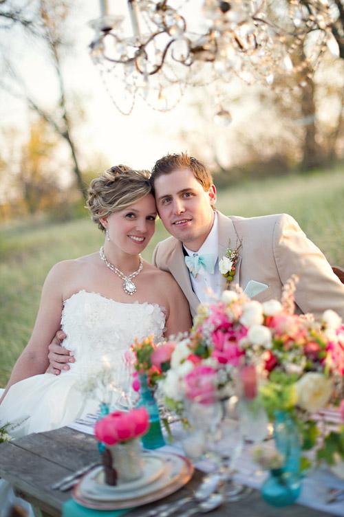 Vintage Coral And Turquoise Wedding Decor Ideas Junebug Weddings