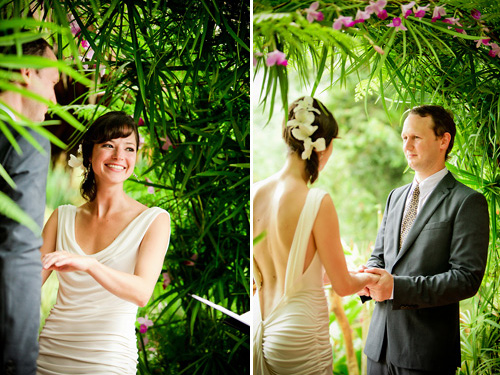 Costa Rica rain forest destination wedding - photos by southern california wedding photographers Beautiful Day Photography