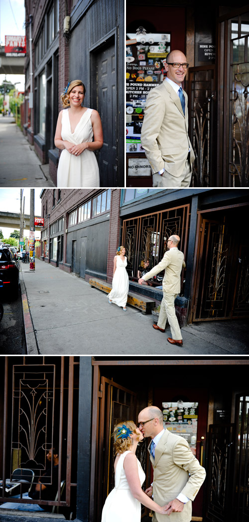 Georgetown Seattle Wedding Photo by Nataworry Photography
