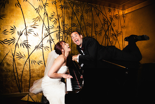 glamorous downtown LA wedding at Cicada, photographed by top wedding photographers Callaway Gable | junebugweddings.com