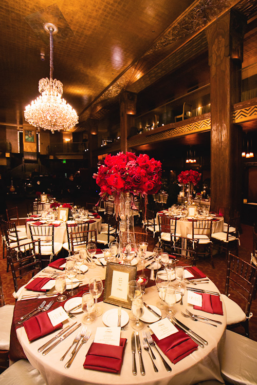 Glamorous Downtown La Wedding At Cicada Restaurant Junebug Weddings