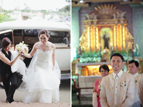 Romantic, Rustic Real Wedding In The Philippines