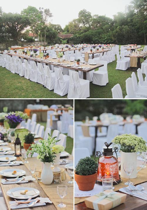 Romantic Rustic Real Wedding In The Philippines Junebug Weddings
