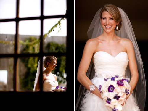 Elegant Purple and White Wedding in Atlanta, GA - photo by Renee Brock Photography | Junebug Weddings