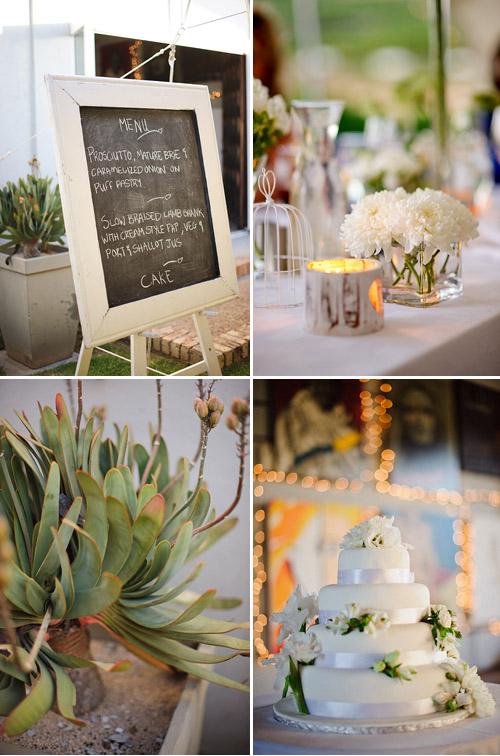Elegant South African Vineyard Wedding, Photo by Eric Uys Photography