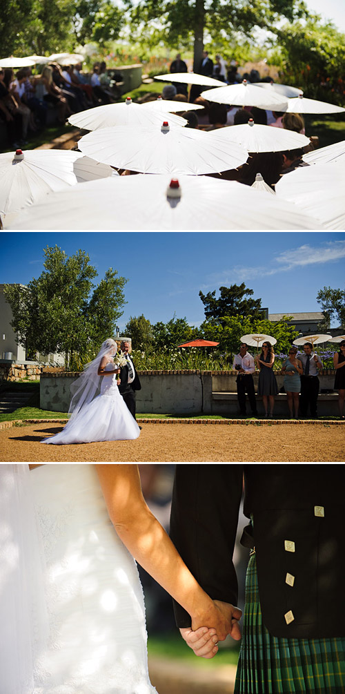 Elegant South African Vineyard Wedding, Photo by Eric Uys Photography