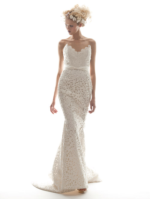 Elizabeth Fillmore spring 2013 wedding dress collection