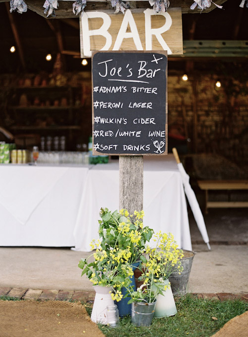 Pretty English Country Barn Wedding Junebug Weddings
