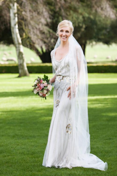 English Country Wedding Dress