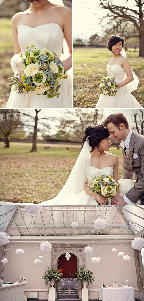 English garden inspired flowers by fairy nuff flowers; photos by Marianne Taylor | Junebug Weddings
