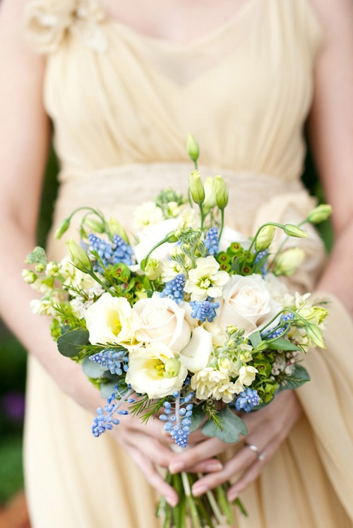 English garden wedding bouquet by fairy nuff flowers, Photo by Fiona Kelly Wedding Photography | JunebugWeddings.com