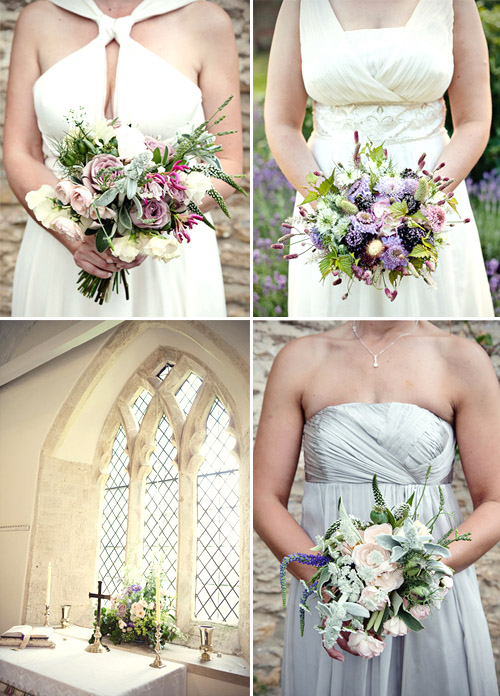 English garden inspired flowers; photos Marianne Taylor | Junebug Weddings