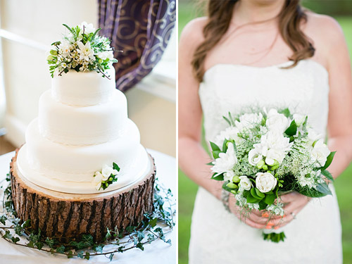English garden inspired flowers; photos by Dominique Bader | Junebug Weddings