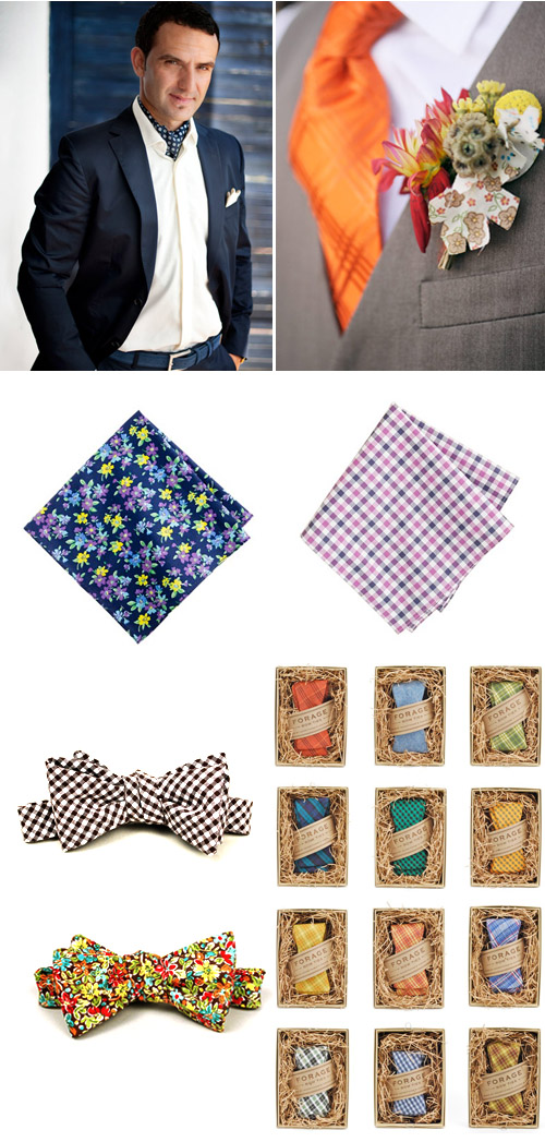 fabric wedding accessories for men