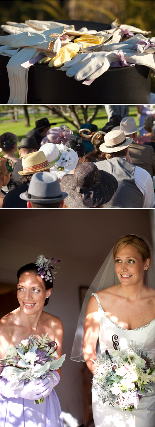 Millinery Inspired Connecticut Wedding by Nathan Smith and Tim Boyd for Ira Lipke Studios