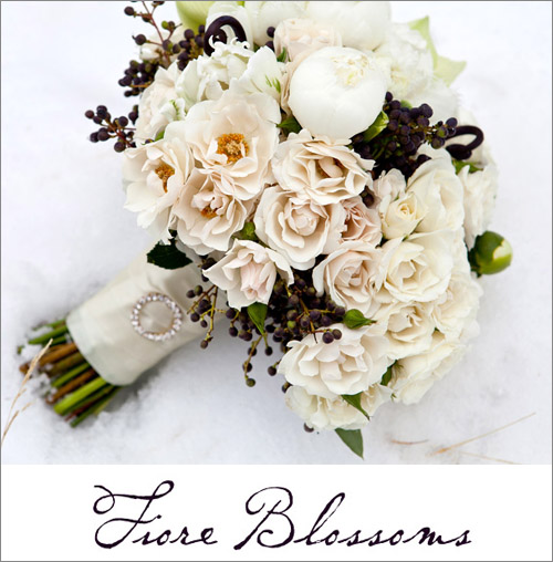 Bridal bouquet by Fiore Blossoms, photo by La Vie Photography | junebugweddings.com