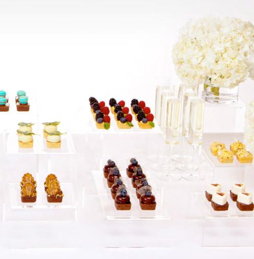 Wedding Mini Desserts: Wedding Day Desserts - Mini Tarts From Früute!