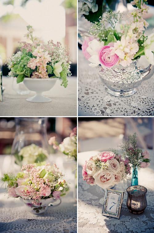 French country inspired georgia wedding elizabeth davis photography junebug weddings - French themed table decorations ...