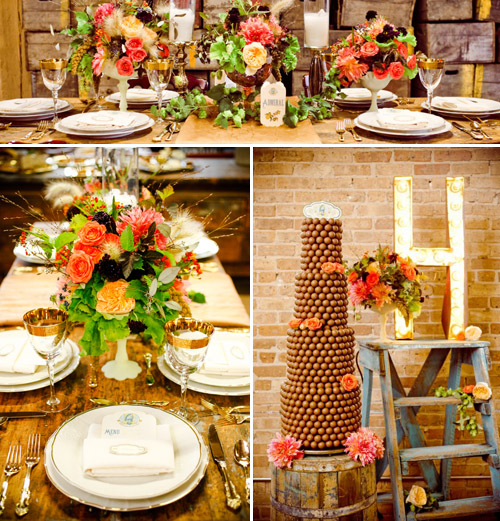 Decor by Greatest Expectations, Photos by Amanda Hein Photography | Junebug Weddings