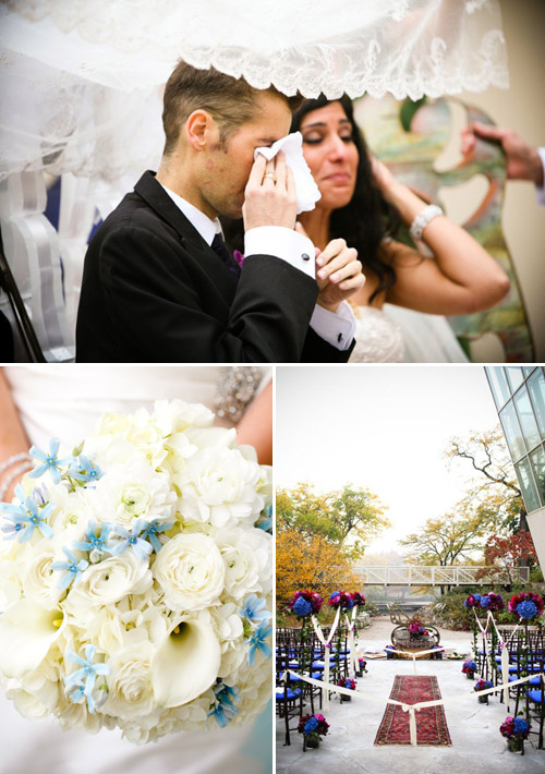 Wedding by Greatest Expectations, Chicago; Photos by Amanda Hein Photography