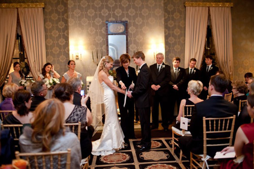 Wedding by Greatest Expectations, Photo by Heather Parker Photography | Junebug Weddings