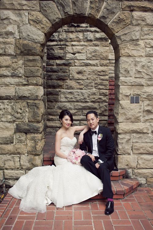 Romantic Chinese American wedding at Greystone Mansion and The London West Hollywood, photos by Marianne Wilson Photography