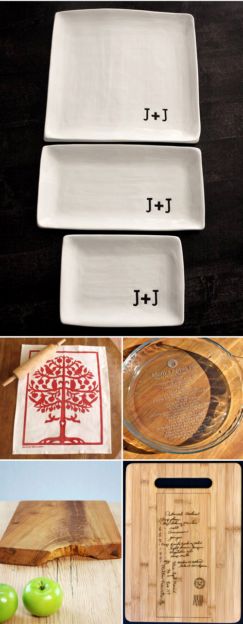 holiday home decor and kitchen gift ideas from Etsy.com | via junebugweddings.com