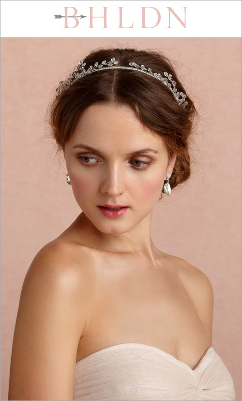 Catkins Headband from BHLDN in the junebugweddings.com Holiday Bridal Fashion Giveaway!