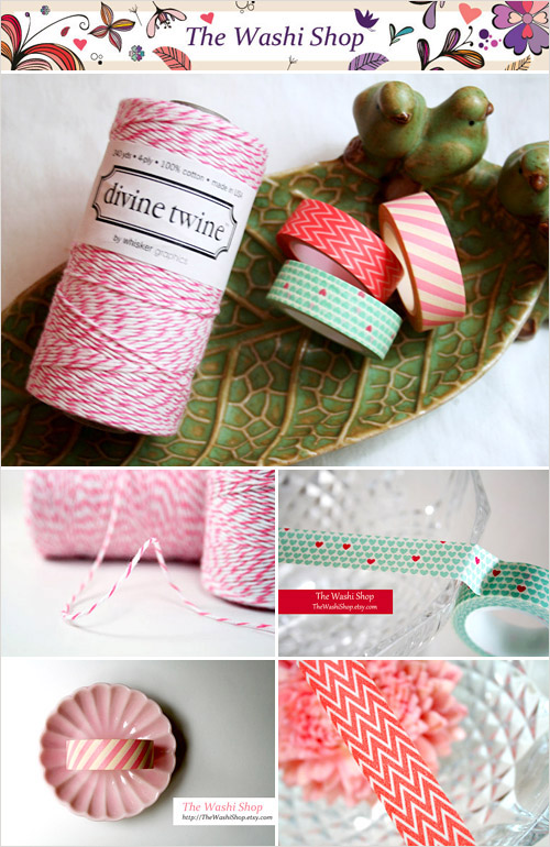 Washi Tape from the Washi Shop in the junebugweddings.com Holiday Wedding Décor Giveaway! | junebugweddings.com