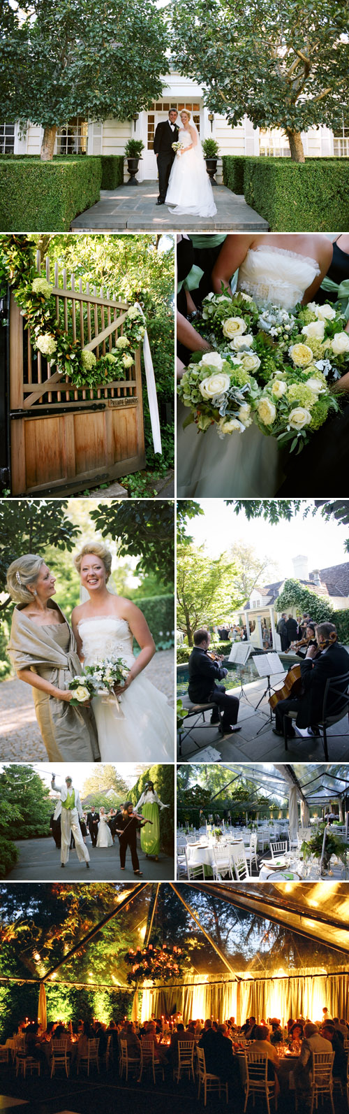 green and white Pacific Northwest garden wedding planned by Jacky Grotle of Event Success and photographed by Joann Arruda