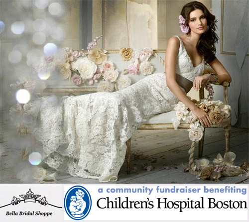 Boston Children's Hospital Benefit Sample Sale - photo of Jim Hjelm dress | junebugweddings.com