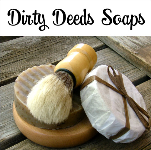 Junebug Weddings Holiday Giveaway Week Day Two: Dirty Deeds Soaps| junebugweddings.com