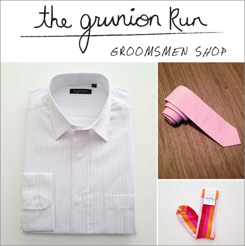 Junebug Weddings Holiday Giveaway Week - Grunion Run Groomsmen Shop| junebugweddings.com