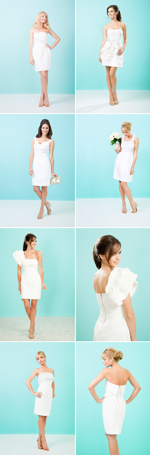 short, alternative wedding dresses from Kirribilla