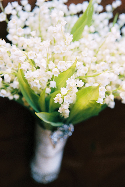 Lily of the Valley Bouquet, photo by Yvette Roman Photography