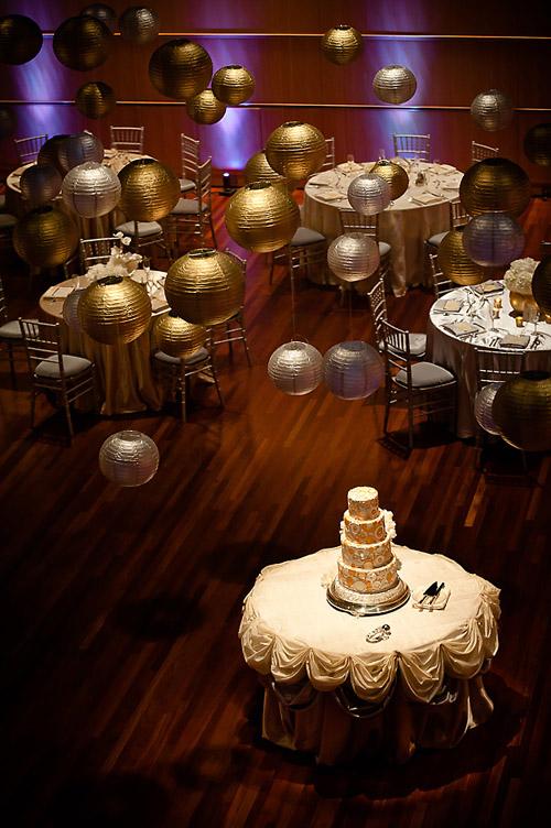 modern gold and silver wedding color ideas photos by krakora studios