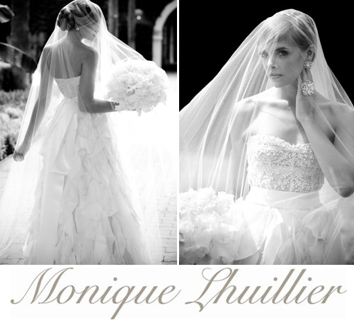 Monique Lhuillier Sample Sale December 2, photo by La Vie Photography | junebugweddings.com