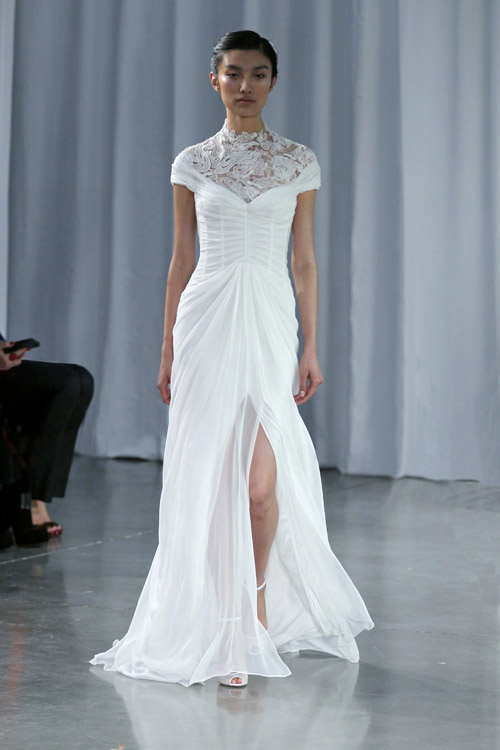 Monique Lhuillier Bridal Fall 2013