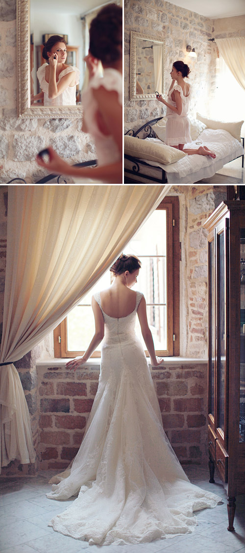 Sweet Countryside Wedding In Kotor, Montenegro