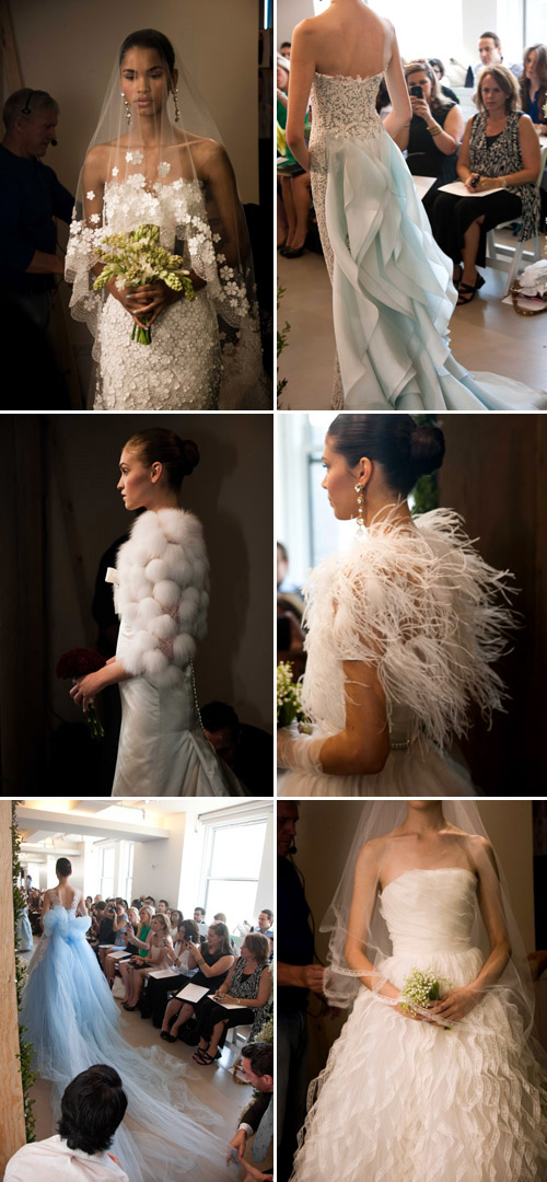 oscar de la renta bridal photos by nathan kraxberger
