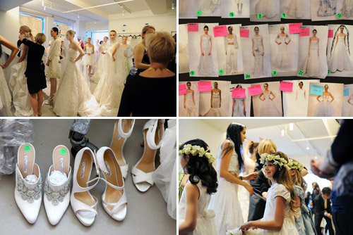 oscar de la renta wedding accessories and runway photos by rachel scroggins