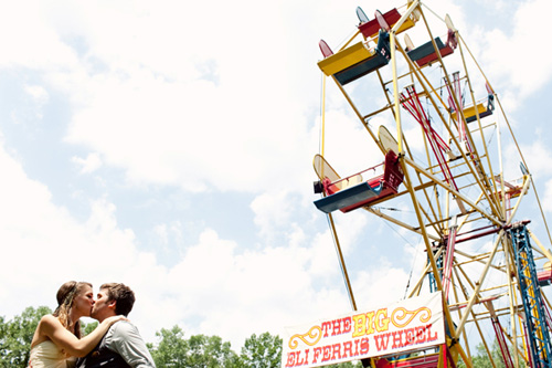 circus inspired summer wedding photos by top Michigan based wedding photographers Studio 6.23