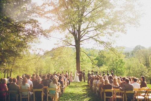 Outdoor farm wedding in asheville nc junebug weddings junglespirit Gallery